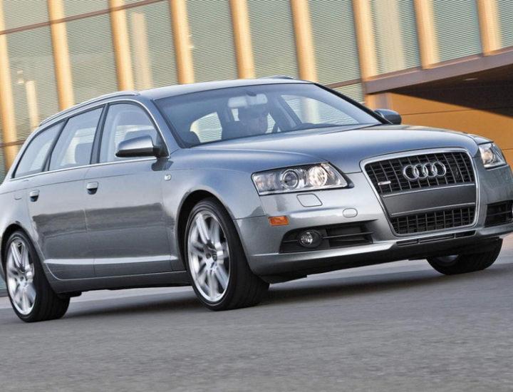Audi A6 C6 Avant – Usuwanie wgniecenia i uszkodzenia na drzwiach