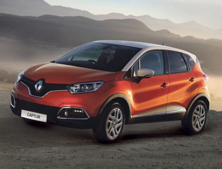 Renault Captur – uszkodzenie poszycia tylnych drzwi