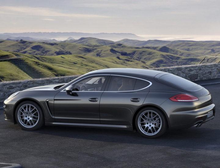 Porsche Panamera – Usuwanie wgnieceń na masce