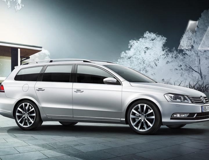 VW Passat – uszkodzenie słupka