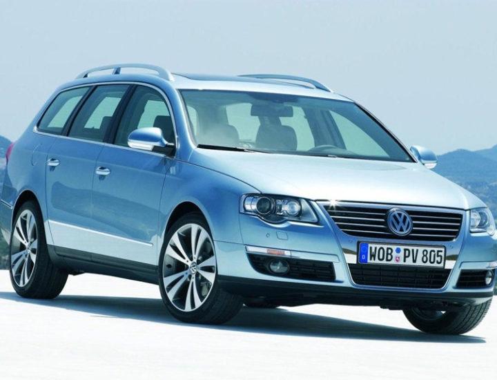 VW Passat B6 – uszkodzenie drzwi tylnych